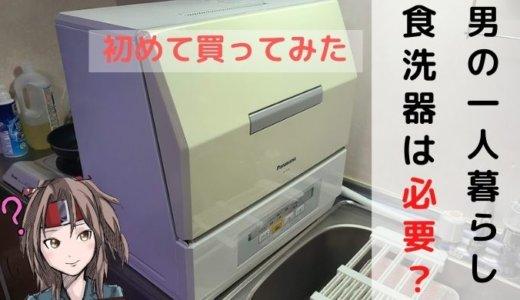 【舐めてた】一人暮らしに食洗器は必要なのか?中古のミニ食洗器を導入したら思いのほか便利だった件